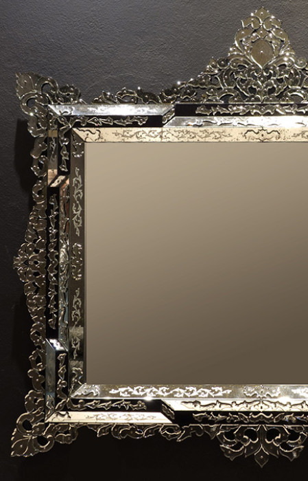 Luxury artistic Mirror 'Art. Casablanca'