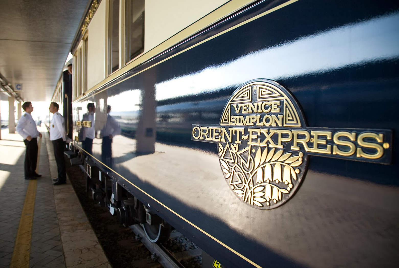 Ongaro & Fuga for the Orient-Express Train